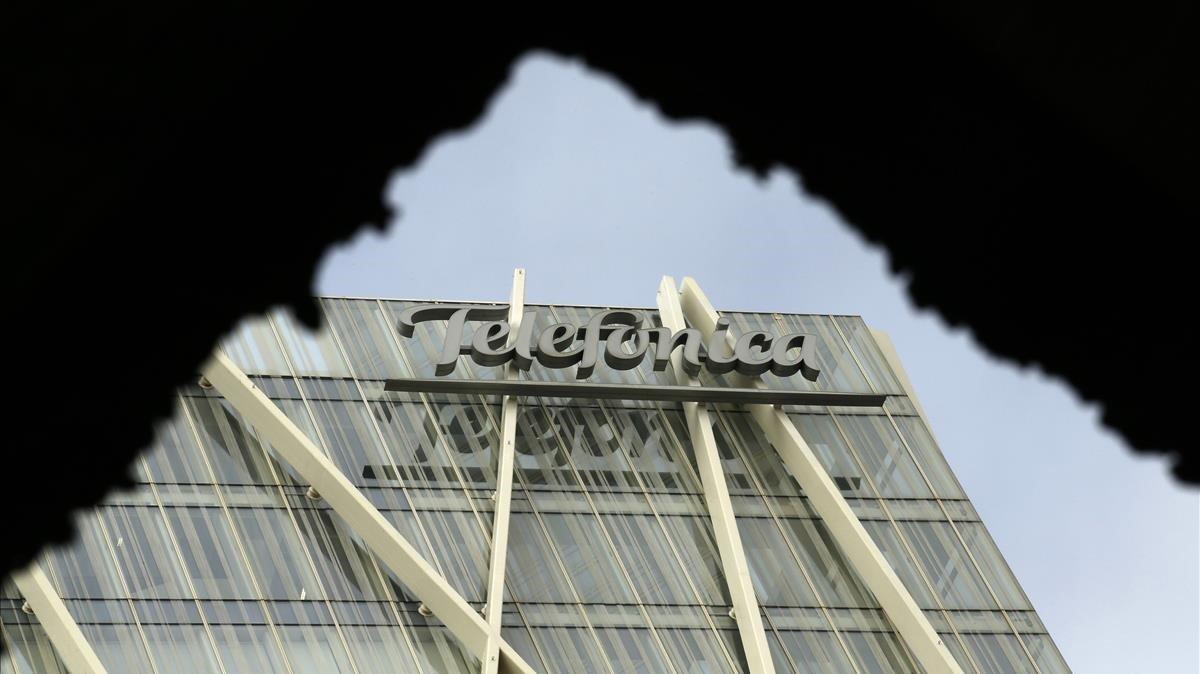 Edificio de Telefónica en Barcelona