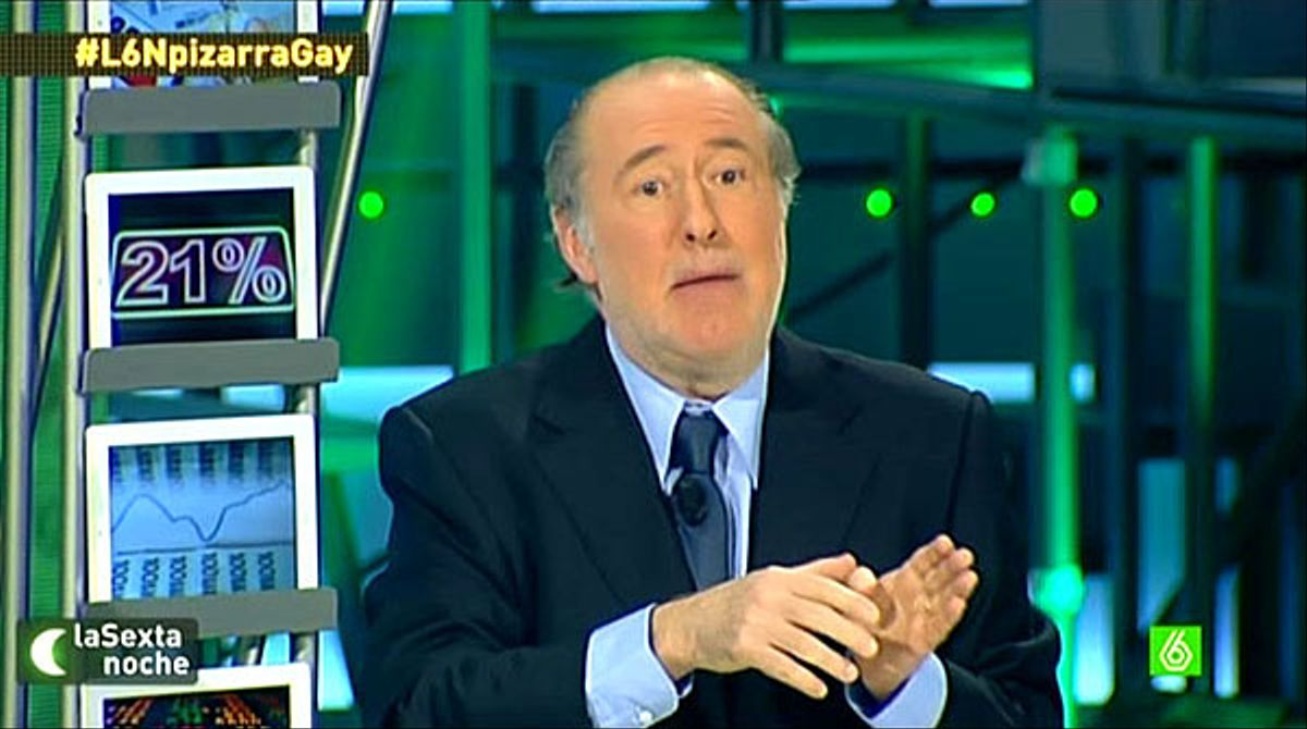 Josep Maria Gay de Liébana, en 'La Sexta noche' (La Sexta).