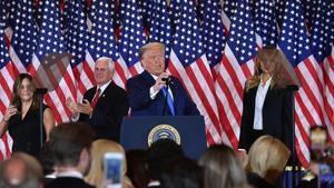 La resistència de l'improbable Trump