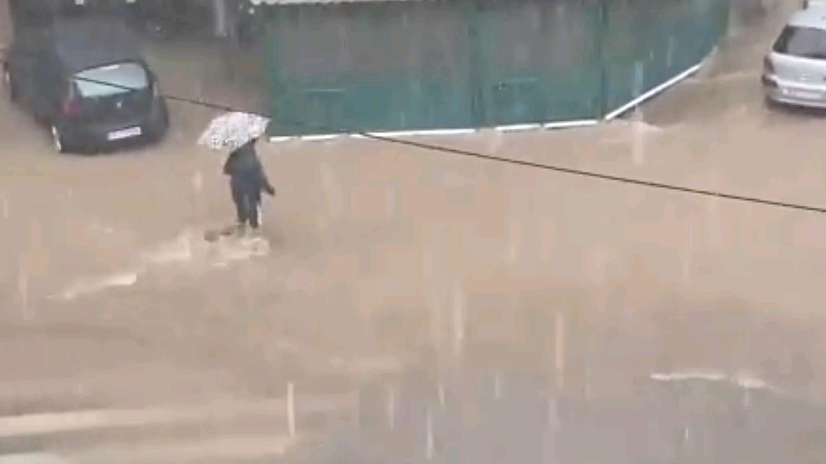 Alerta en zonas de Catalunya por las lluvias torrenciales