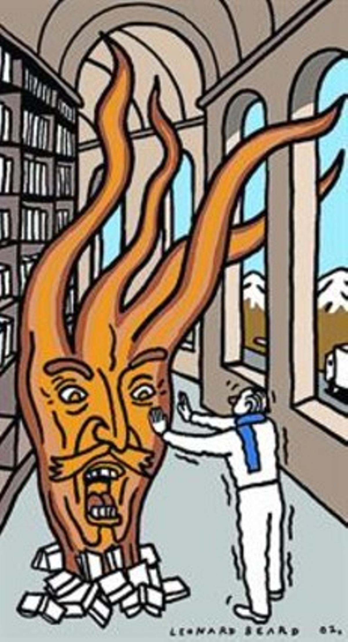 Los 'libros fuego'
