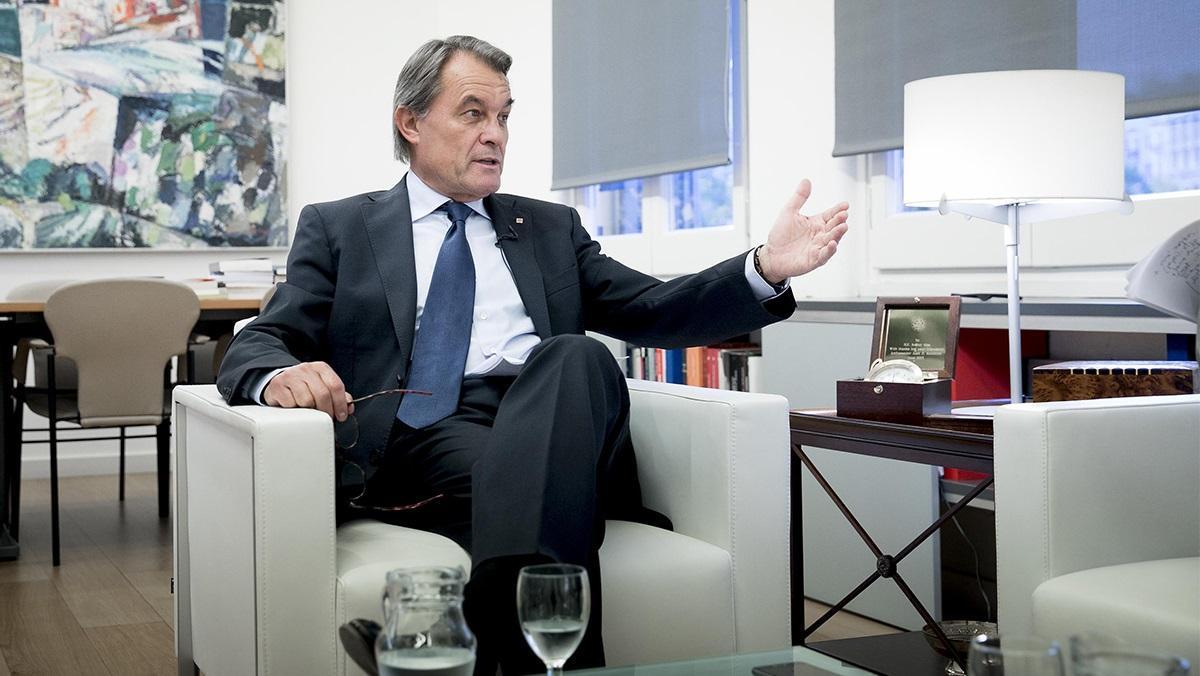 Entrevista a Artur Mas, expresidente de la Generalitat