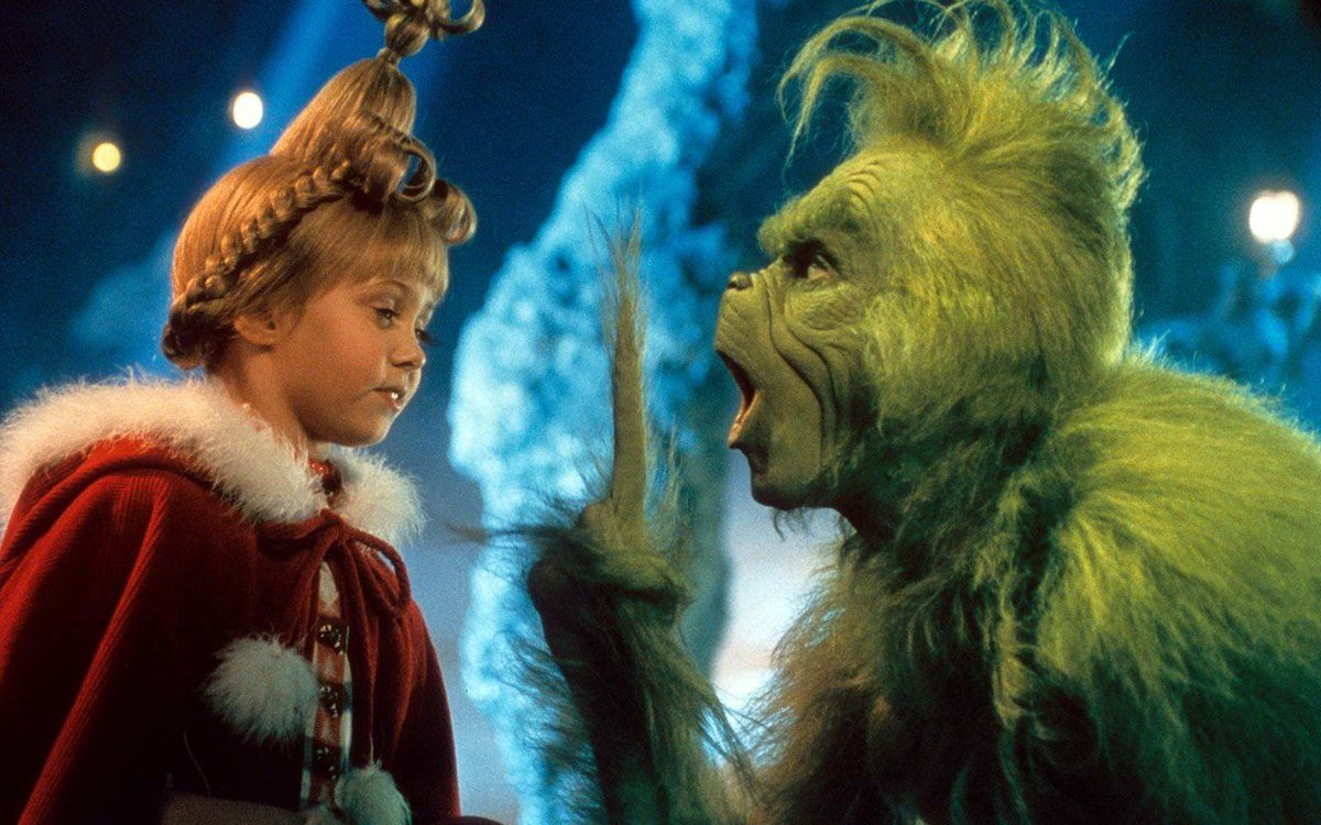 Jim Carrey en 'El Grinch'.