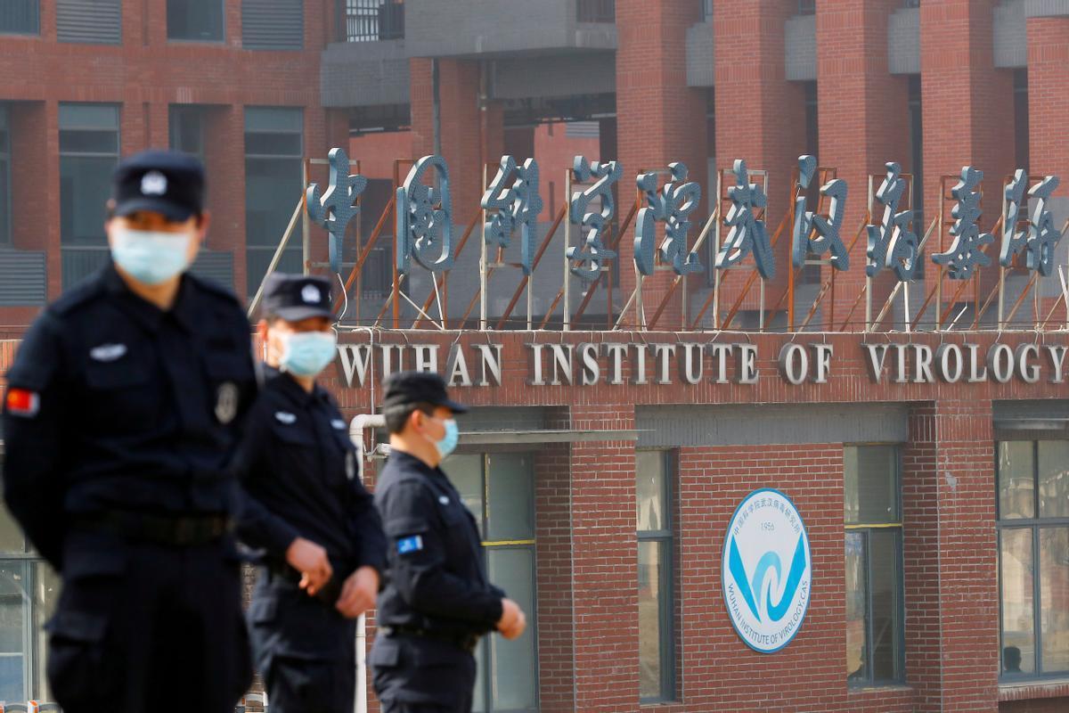 El Instituto de Virología de Wuhan, durante la visita de un equipo de la OMS, el pasado febrero.