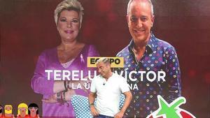 Jorge Javier Vázquez anuncia a Terelu Campos y Víctor Sandoval como participantes de 'La última cena'.