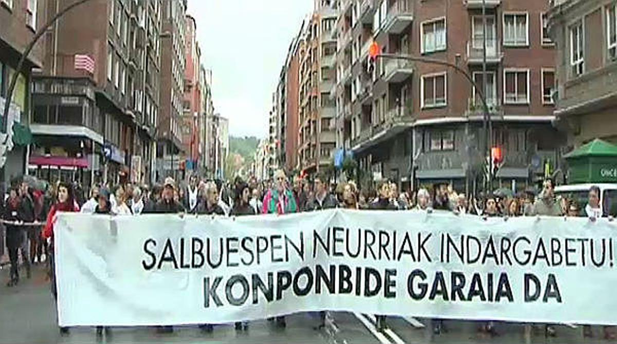 El juez Velasco prohíbe la manifestación de apoyo a los presos de ETA