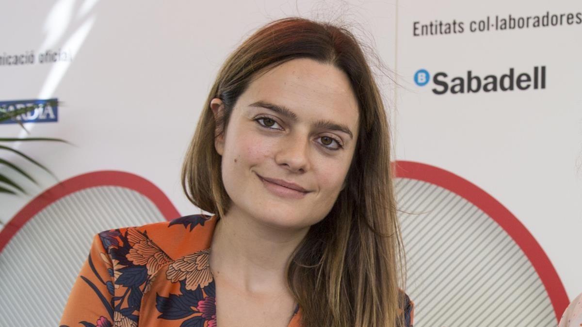 La escritora Maria Guasch.
