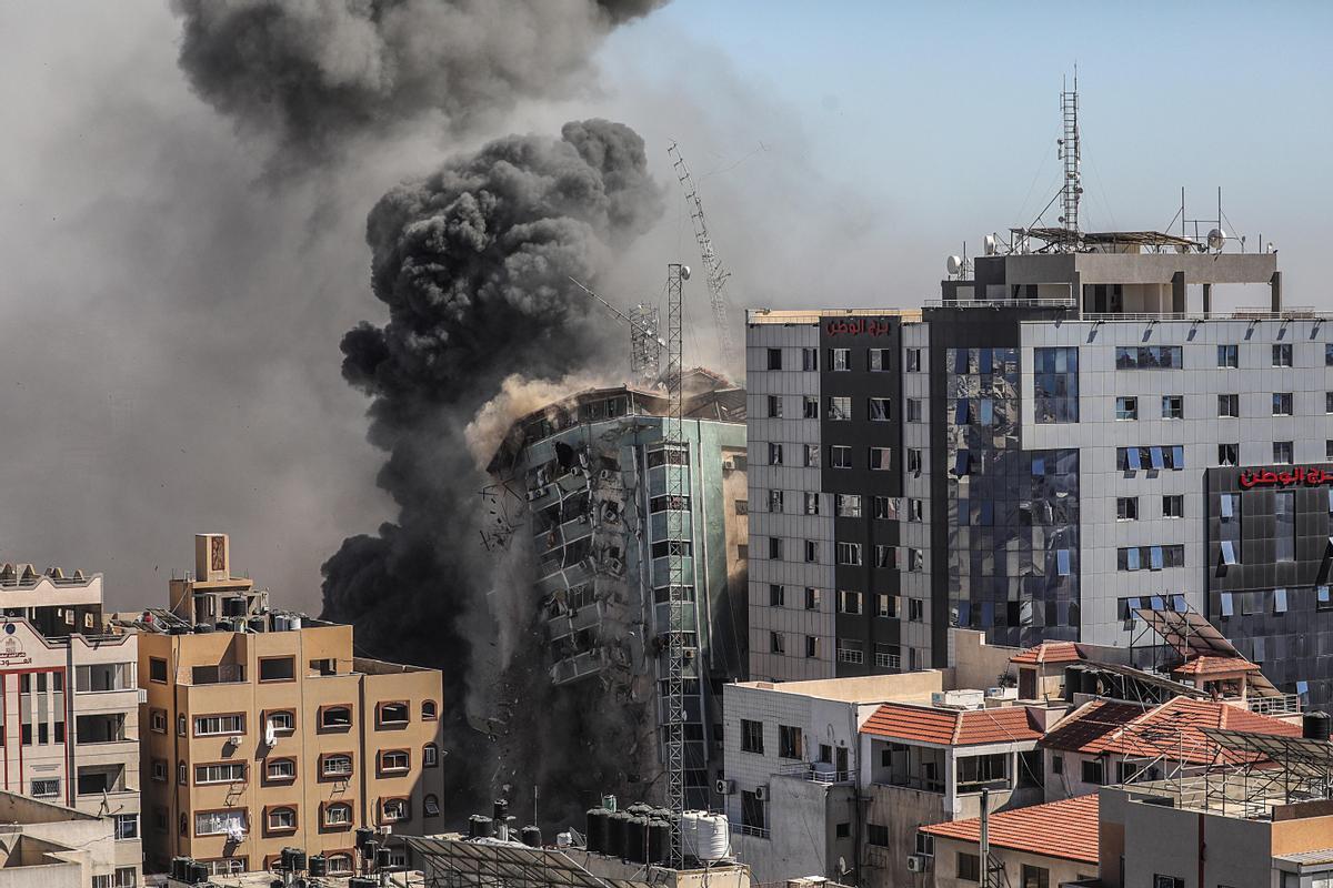 Israel golpea al periodismo en Gaza