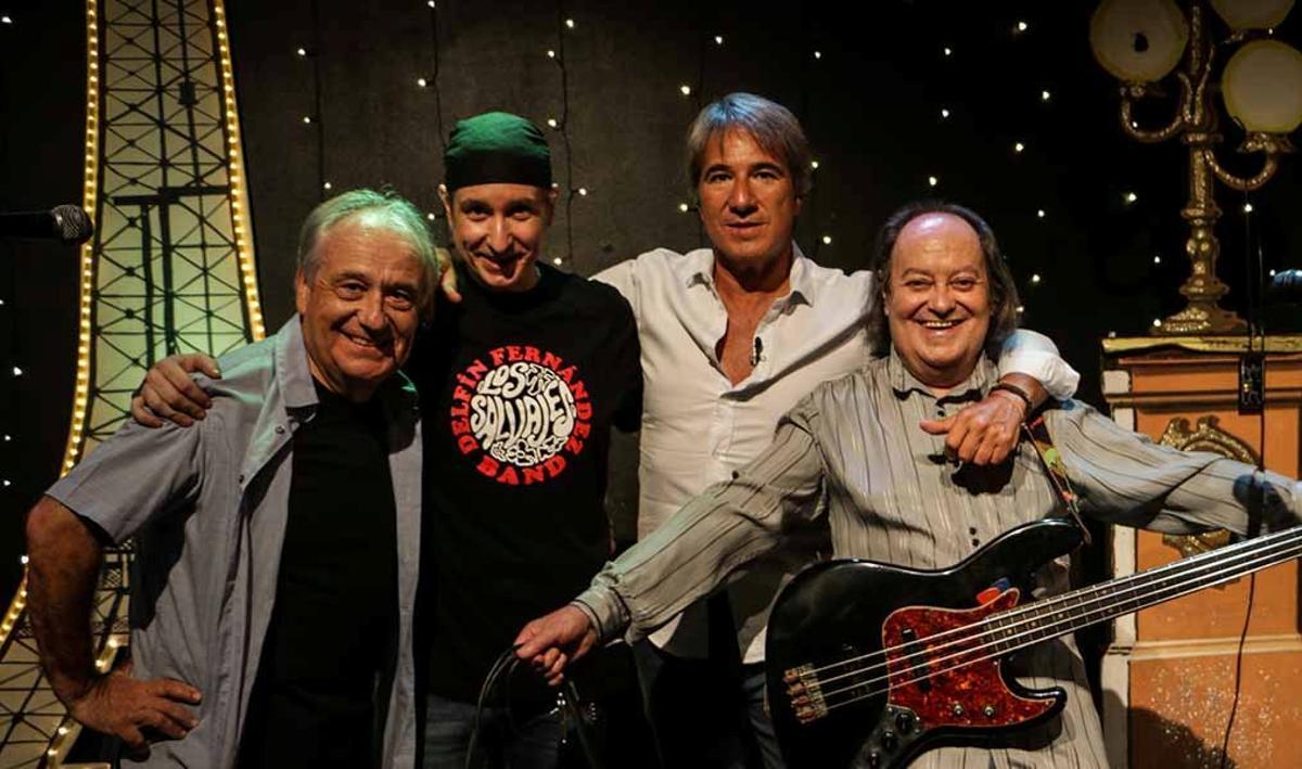 El grupo Los Salvajes, uno de los pioneros del rock que retrata el documental 'Sonido Mosca'.