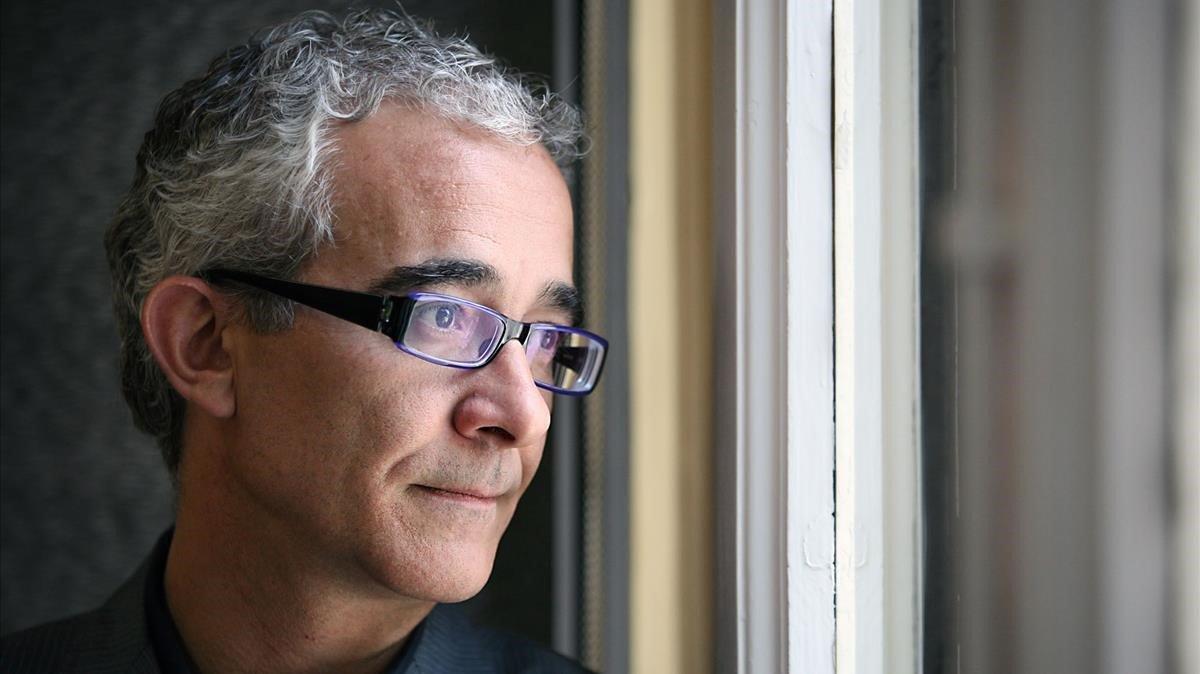 El escritor y traductor Enrique de Hériz.