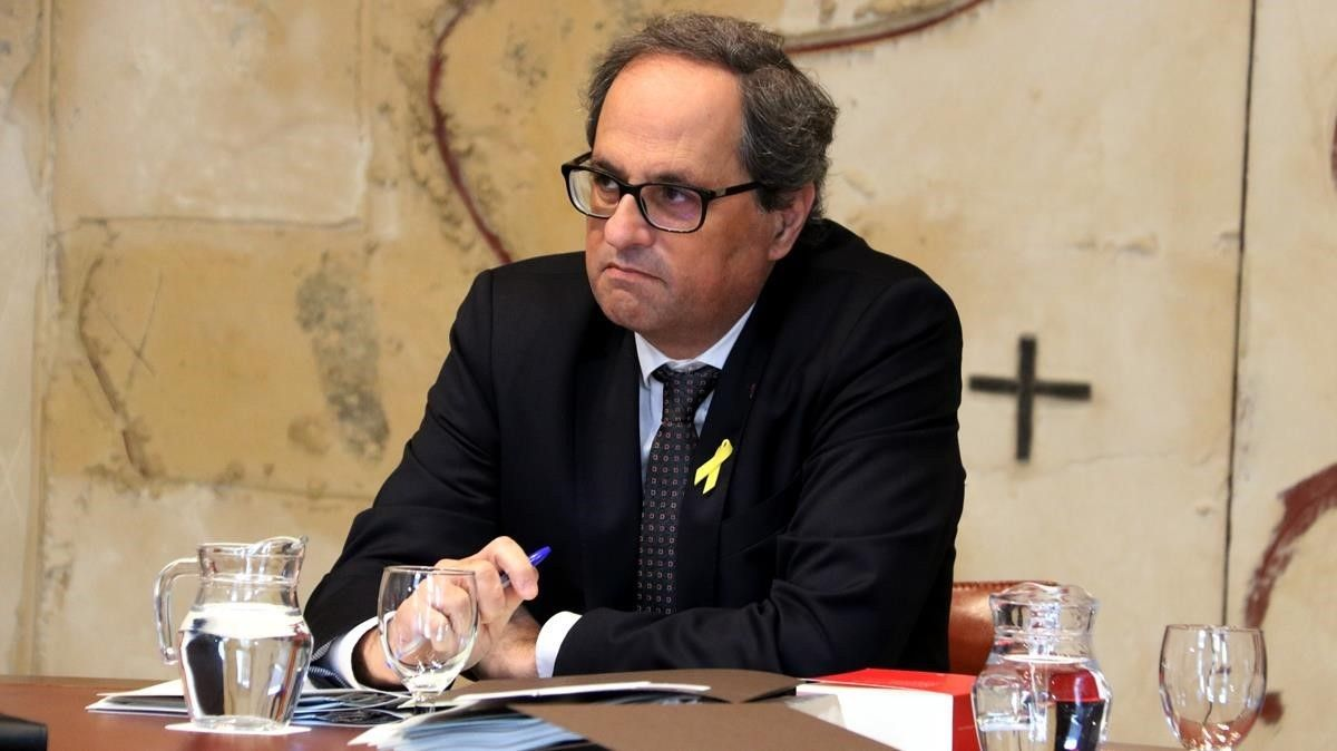 El 'president' de la Generalitat, Quim Torra.