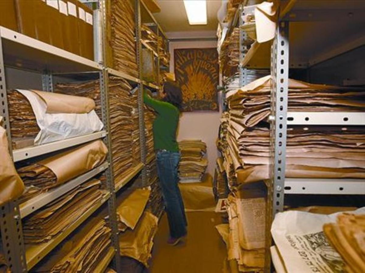 Archivo único 8 Actual sede del Ateneu Enciclopèdic Popular, en un piso de la Biblioteca Arús.