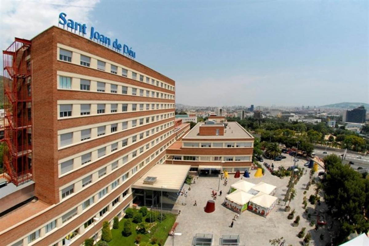 El Hospital Sant Joan de Déu de Esplugues.
