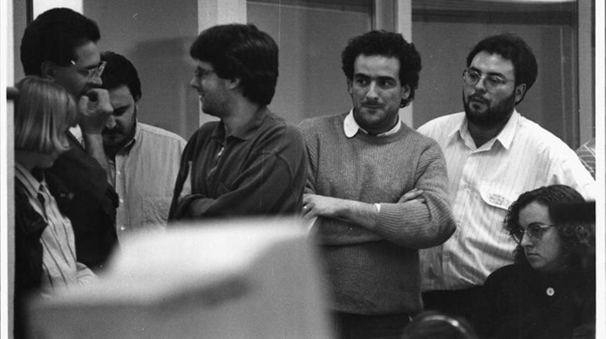 Carles Puigdemont, en su época en 'ElPunt'.