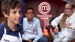 Pablo, Manel y Adriana, nuevos expulsados de 'Masterchef Junior 8'.