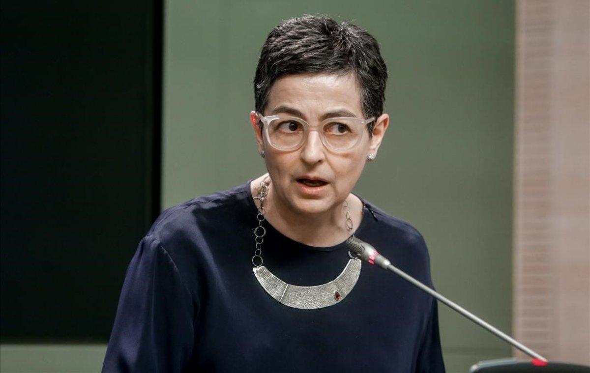 La ministra de Asuntos ExterioresUnion Europea y CooperacionArancha Gonzalez Laya.