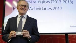 El presidente de la CNMV, Sebastián Albella.