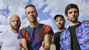 'Music of the spheres' Coldplay es delecta amb la seva mística 'cuqui'