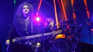 The Cure, durante un reciente concierto en Austin, Texas.