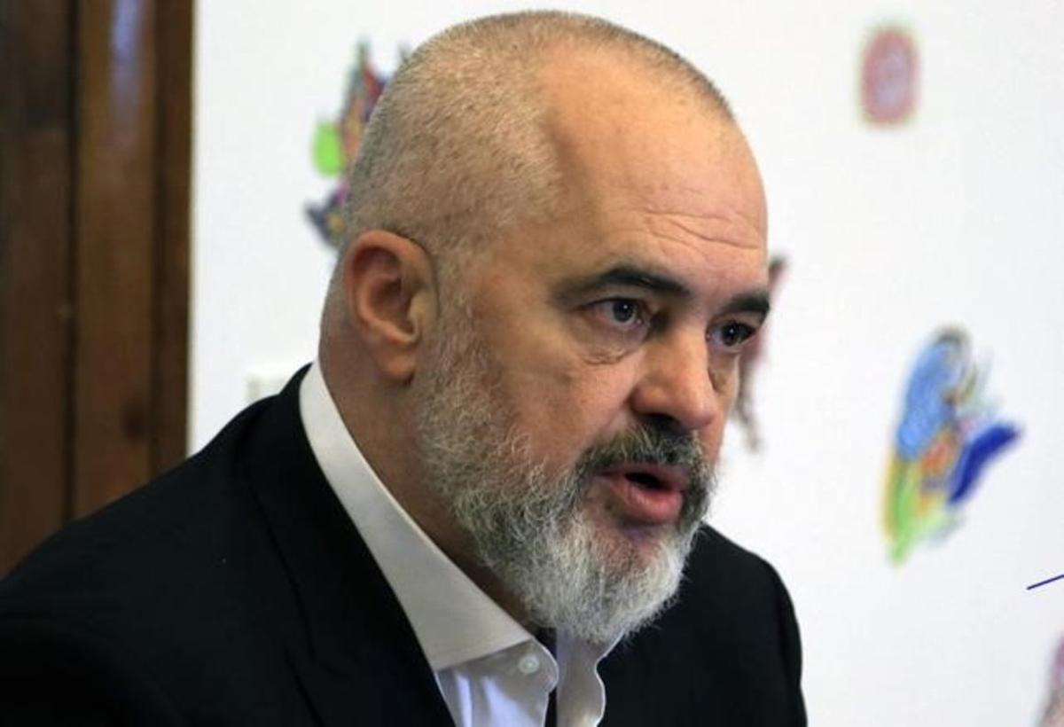 Edi Rama, primer ministro de Albania.