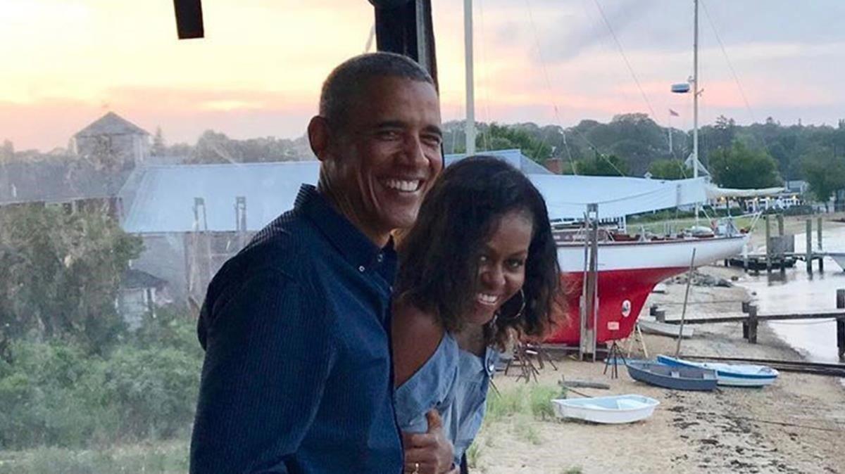 Els Obama es declaren públicament el seu amor