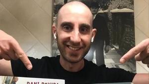 Dani Rovira termina su tratamiento de quimioterapia.