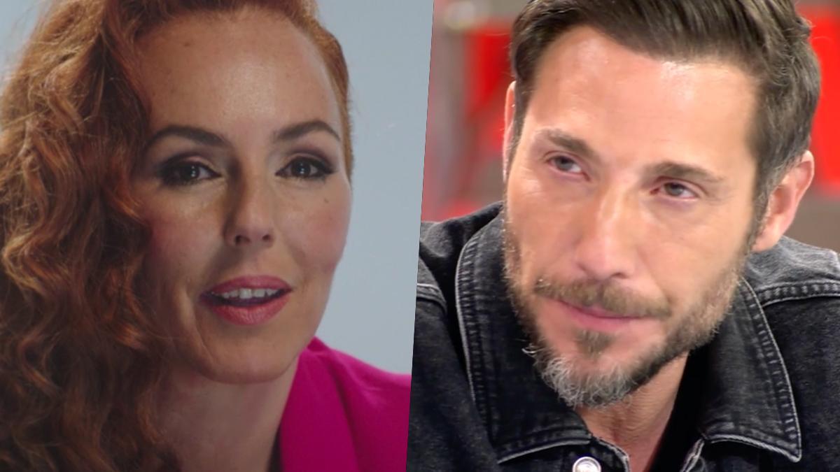 Rocío Carrasco y Antonio David Flores en 'Sálvame'.