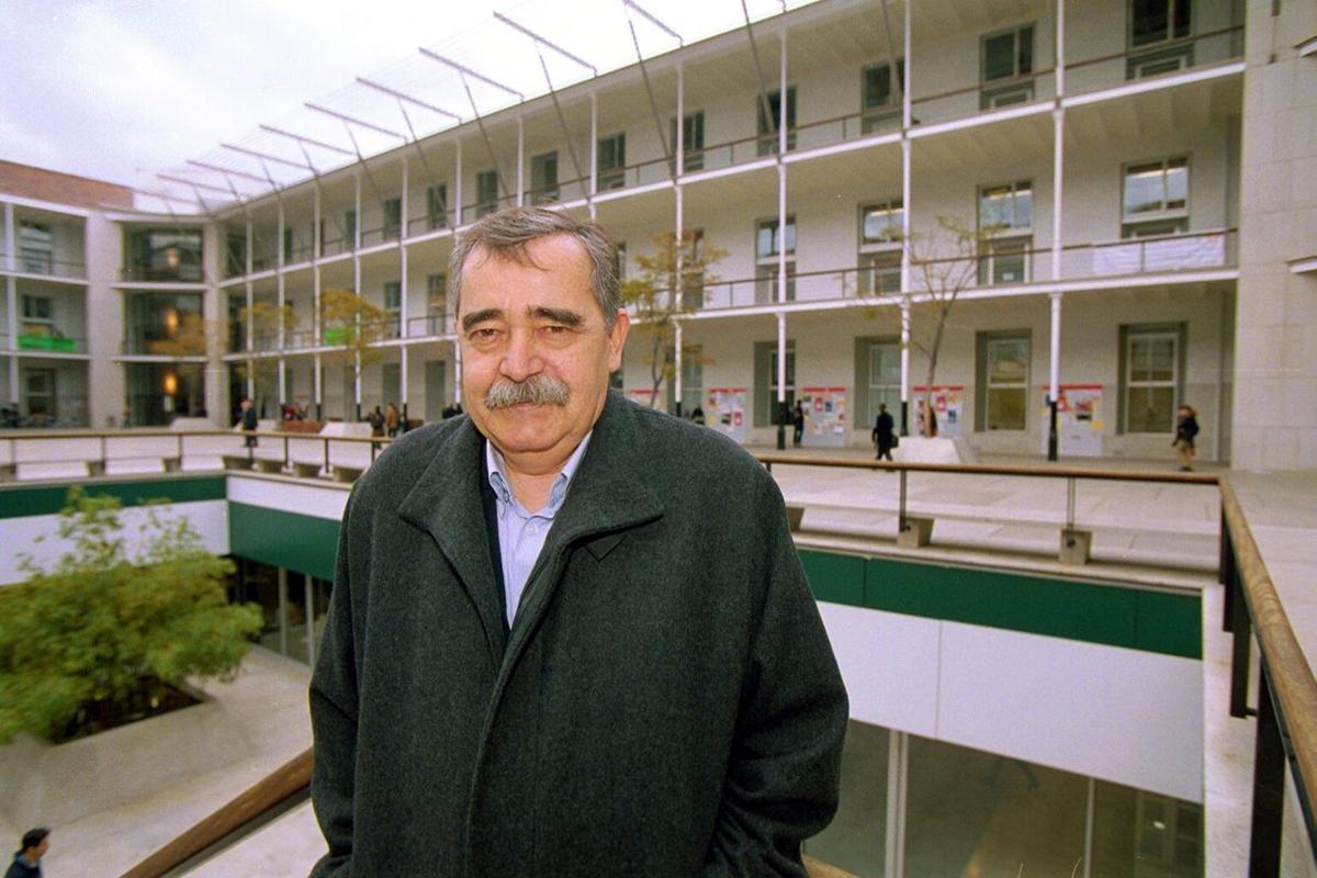 El filósofo Eugenio Trías, en una imagen del año 2003.