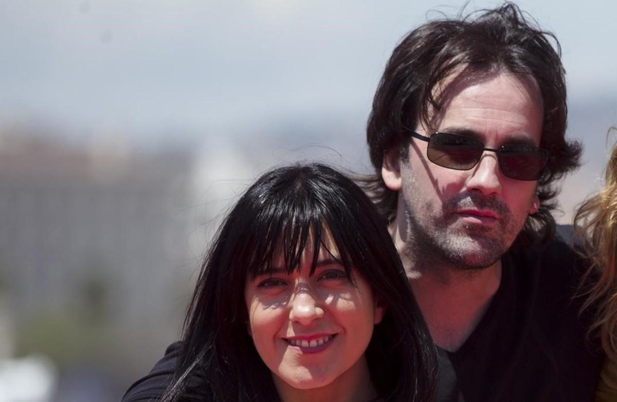 Isaki Lacuesta e Isa Campo, directores de 'La propera pell', en el festival de Málaga.