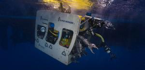 Liropuses un nuevo vehículo submarino no tripulado (ROV) capaz de operar hasta más de 2.000 metros de profundidad que el IEO acaba de incorporar a su equipamiento científico.