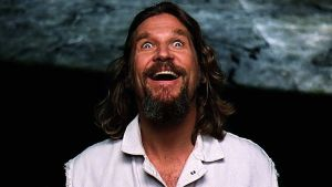 Jeff Bridges, en un fotograma de 'El gran Lebowski'