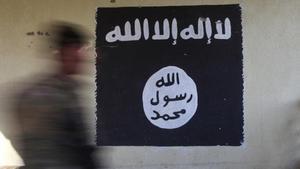 Bandera del Estado Islámico.