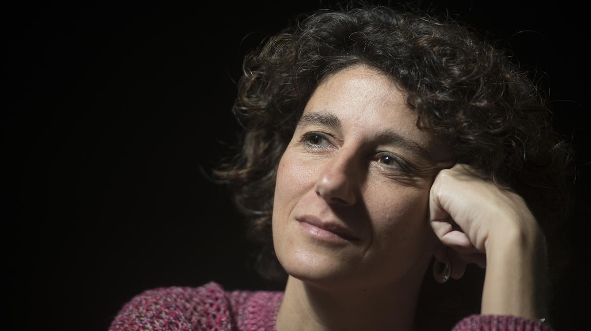 Barcelona    21 12 2020     Barcelona  Entrevista a la filosofa Marina Garces    Fotografia de Jordi Cotrina