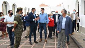 Pedro Sánchez garanteix la reconstrucció de tots els danys de La Palma