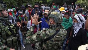 El president de Colòmbia crida a reforçar la presència de les forces de seguretat a Cali