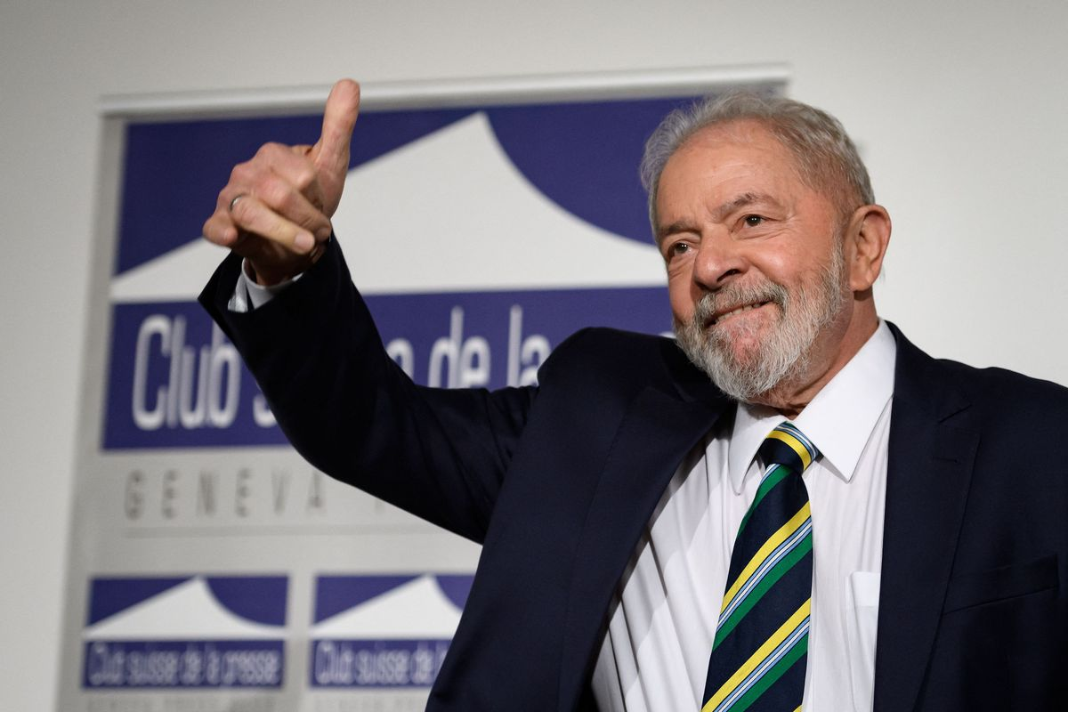 El expresidente de Brasil, Luiz Inacio Lula da Silva.