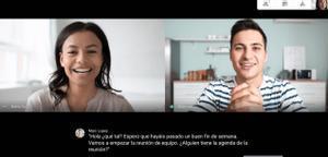 Google Meet ja té subtítols en espanyol en temps real