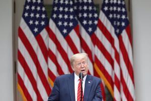 El expresidente estadounidense Donald Trump.