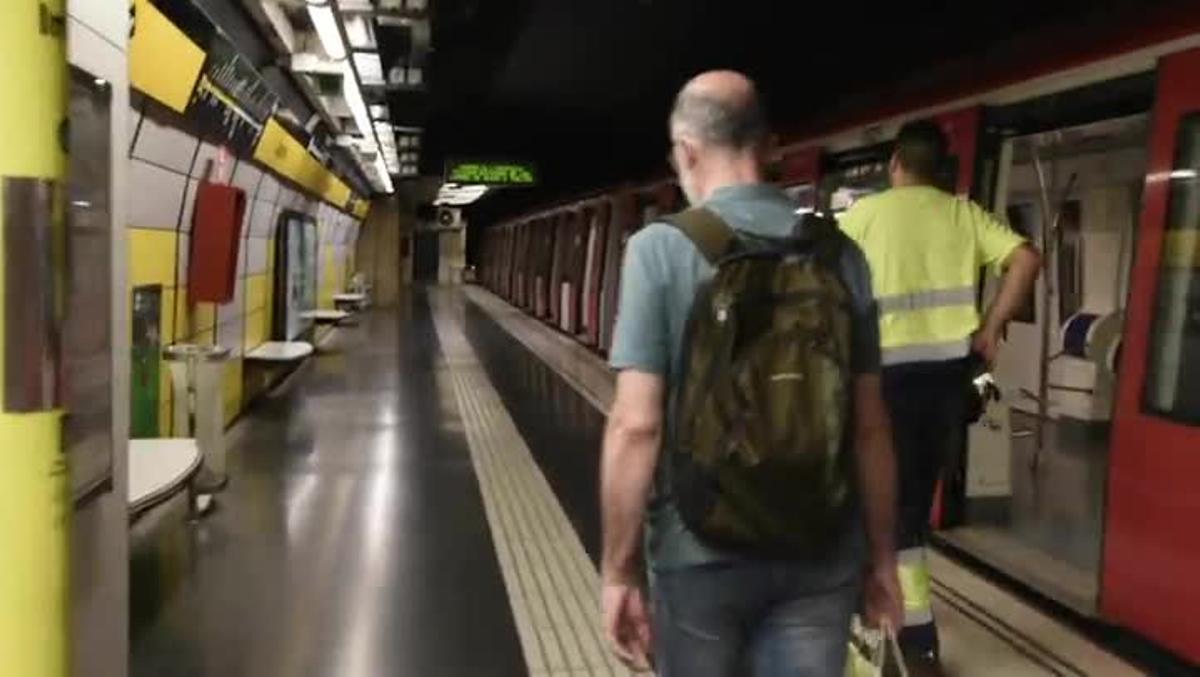 Visita a la estación 'fantasma' del metro de Correos.