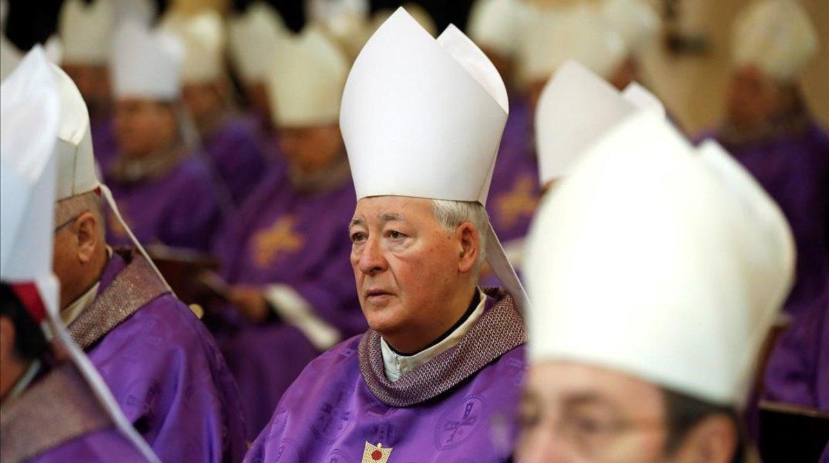 El obispo de Alcalá de Henares Juan Antonio Reig Pla.