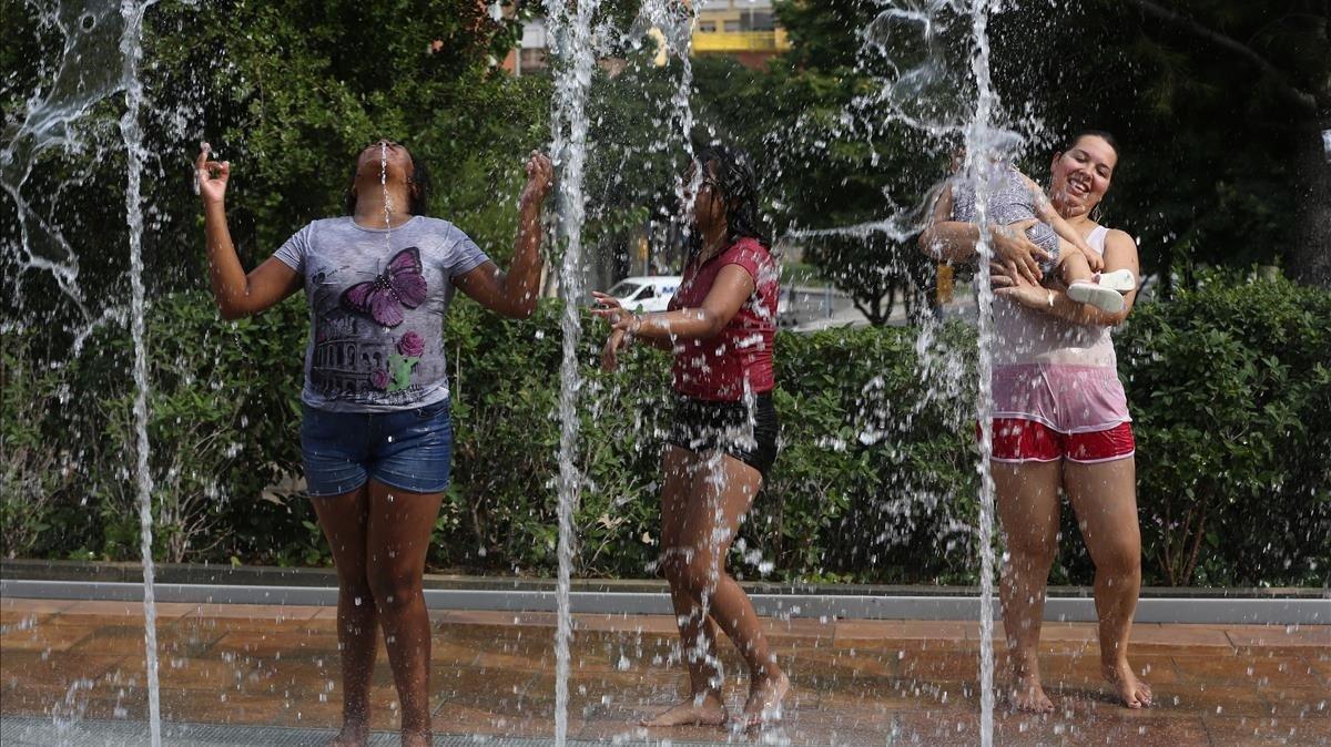 Onada de calor a Catalunya després de Sant Joan