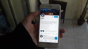 La cuenta oficialde la Agencia Central de Inteligencia (CIA) en la red social de Twitter.