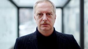 El escritor italiano Antonio Scurati, en su visita a Madrid en el 2020.