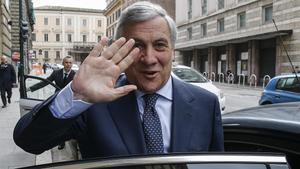 Antonio Tajani, en Roma, el viernes 2 de marzo del 2018.