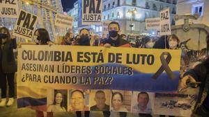 El año 2020 cierra con más de 300 líderes sociales asesinados en Colombia.