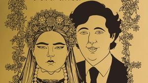Fragmento de la portada de 'Primavera para Madrid', con el personaje de Fede, que recuerda al Pequeño Nicolás.