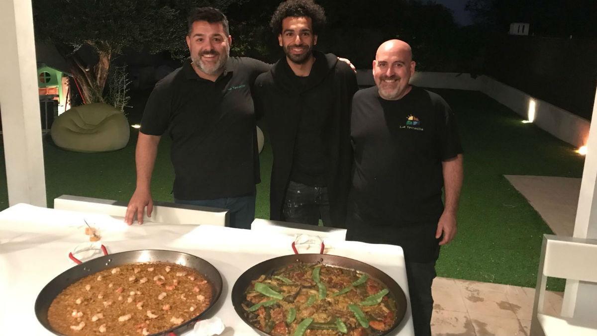 Salah es recupera a Benicàssim menjant paella