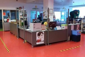 La BibliotecaMunicipal de Rubí es uno de los equipamientos que se reactivará con la Fase 2.