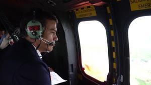 Pedro Sánchez visita la zona de Alicante afectada por la Dana, junto a Ábalos y Grande-Marlaska.