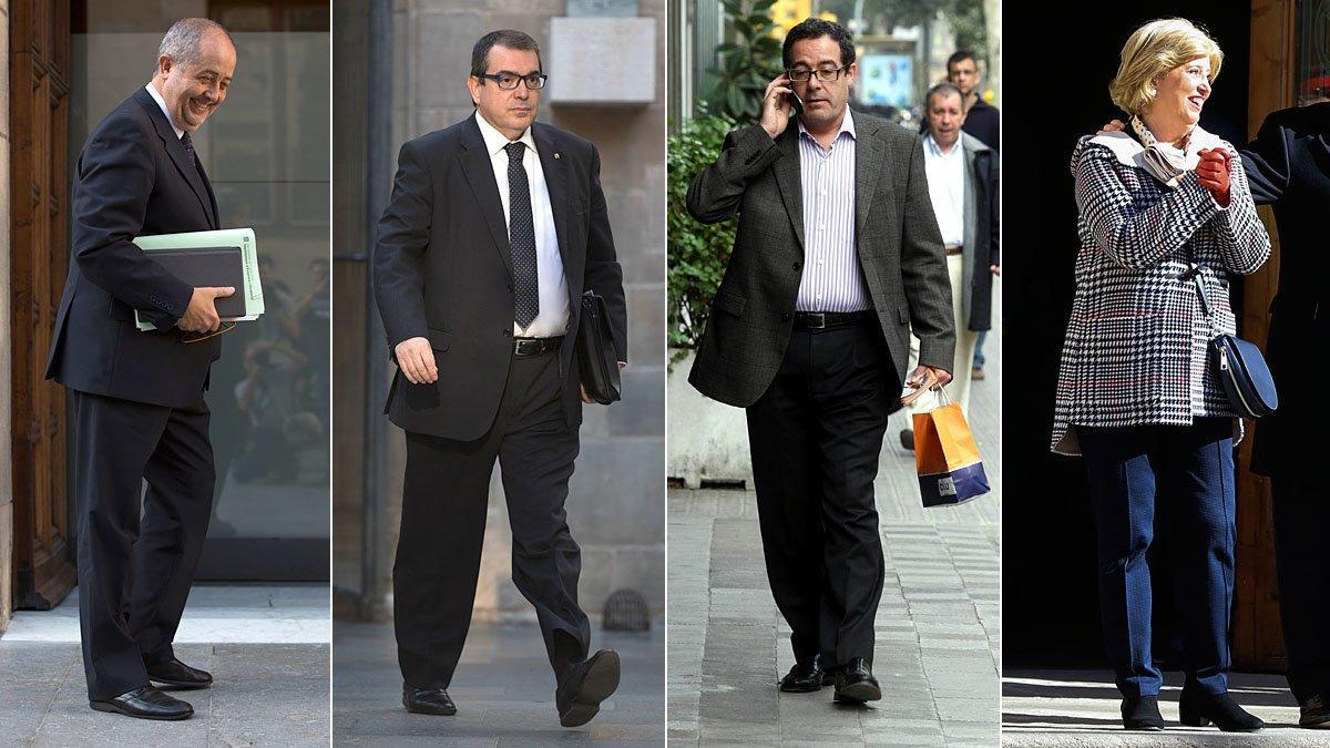 El fiscal acusa de blanqueo a cuatro 'exconsellers' de CDC
